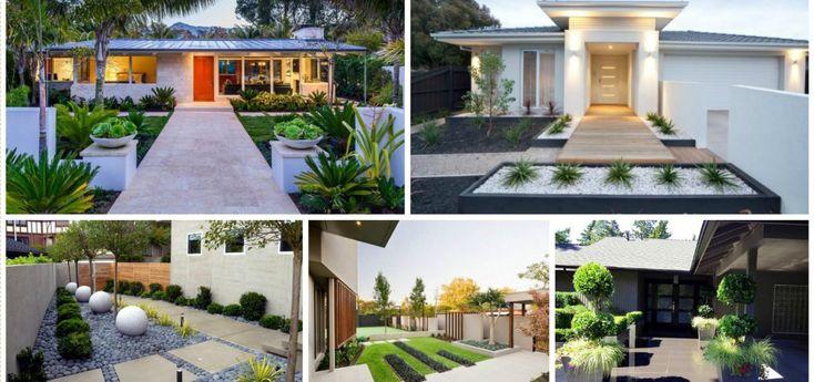 Modern Front Yard Designs: 17 Best Ideas About Modern Front Yard On Pinterest