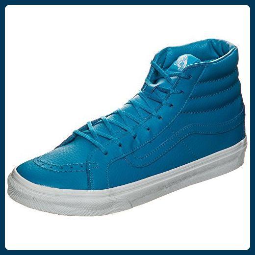 Vans Sk8-Hi Slim Neon Leather Sneaker Damen 10.0 US - 43.0 EU - Sneakers für frauen (*Partner-Link)