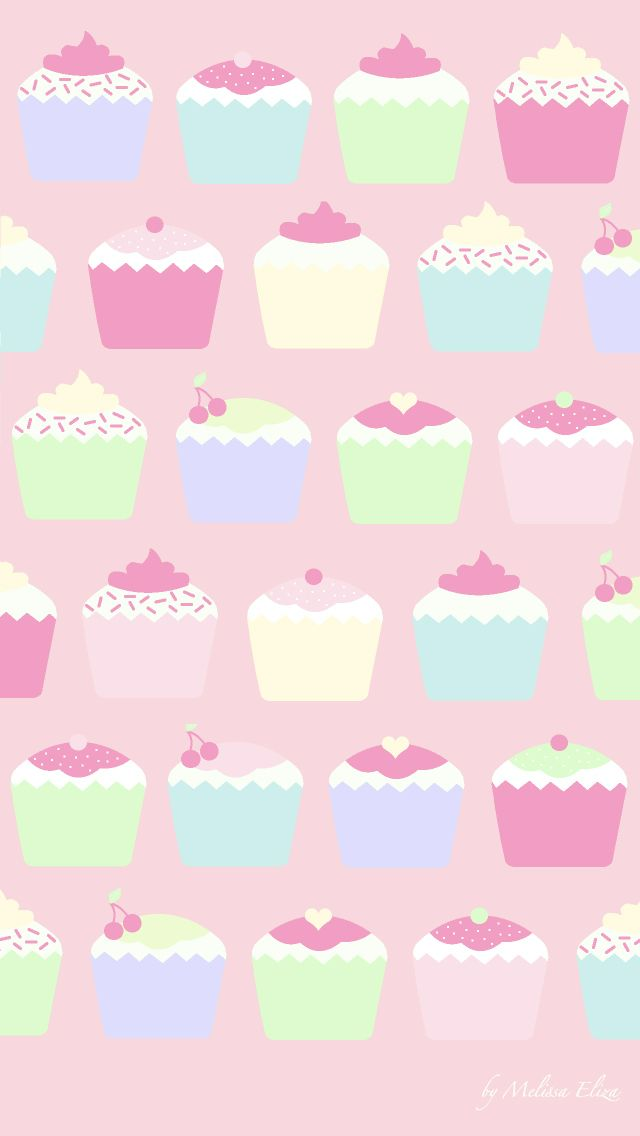 Cupcakes Find More Funky Patters For Your IPhone Android Prettywallpaper