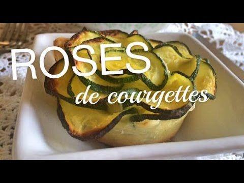 Recette Tupperware : fleurs de courgettes - YouTube