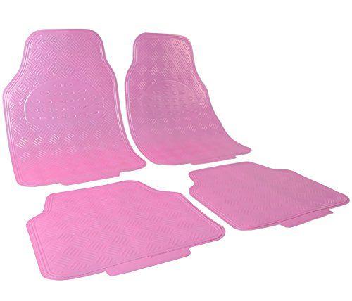 WOLTU Universal Auto Fußmatten Matten 4-teilig ALU Look Chorm Optik Riffelblech rosa matt AM7170rs #WOLTU #Universal #Auto #Fußmatten #Matten #teilig #Look #Chorm #Optik #Riffelblech #rosa #matt #AMrs