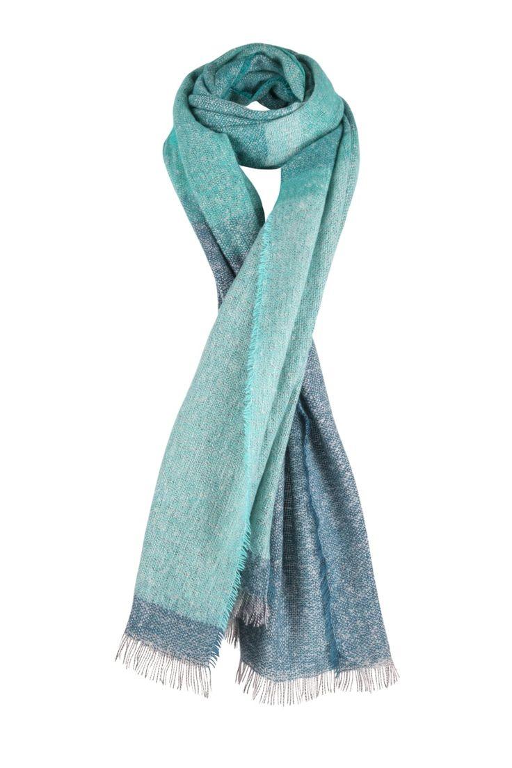 Tonal Dip Dye Effect Scarf   http://www.mistral-online.com/accessories-c10/tonal-dip-dye-effect-scarf-turquoise-p28055