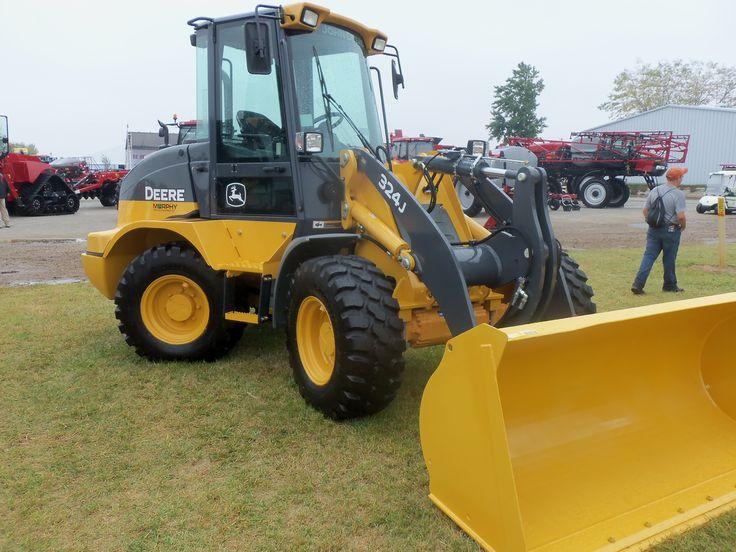 John Deere 244j Attachments : John deere j compact wheel loader jd construction