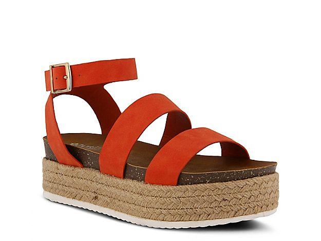 6ce21e7bf35 Women Larissa Espadrille Platform Sandal -Mustard Woven Fabric in ...