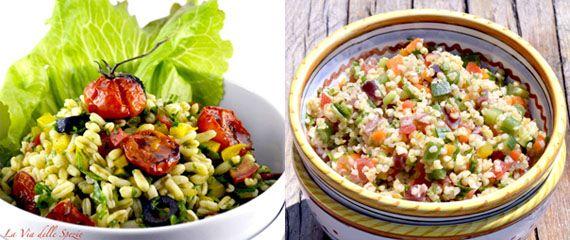 """Le """"#insalatone"""" per la tua #pausa #pranzo. Vai di #corsa? Ecco 3 #idee da portare in #ufficio per #mangiare #sano e #veloce http://bit.ly/1rFBe26 #Melarossa"""