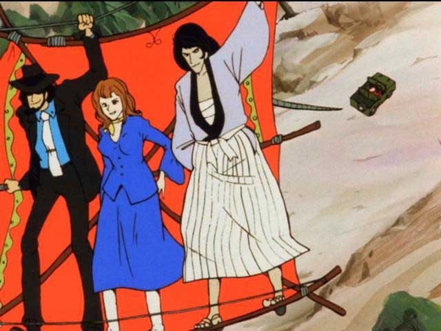 6.ルパン三世 モンキー・パンチの『漫画アクション』連載(1967~9)のマンガを原作としたアニメ 1971年-1972年 ルパン三世 (TV第1シリ...