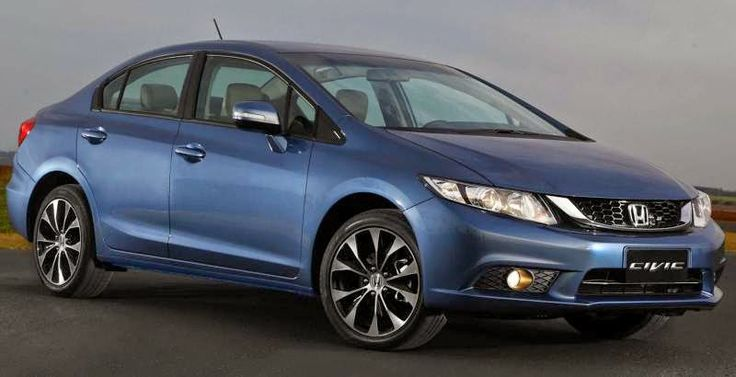 BmotorWeb: Novo Honda Civic 2015 (Preços)