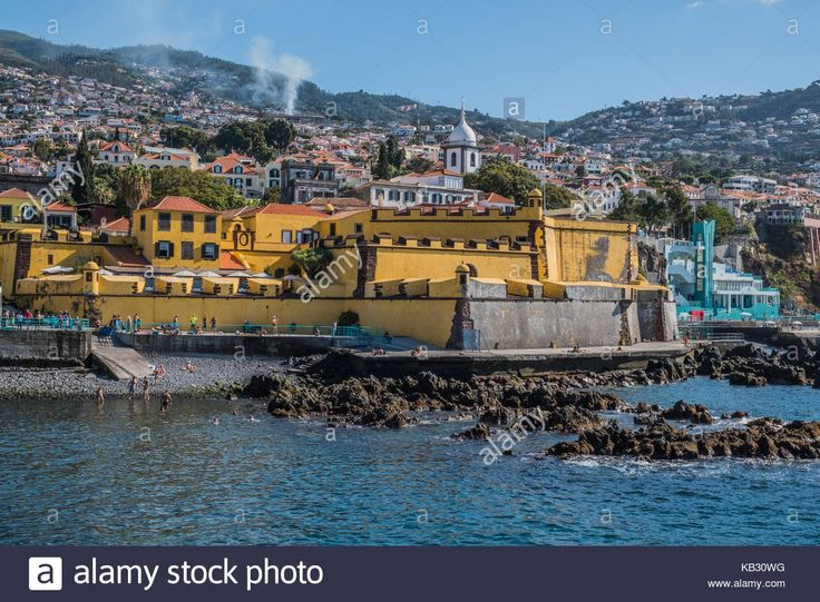 Santiago Fort, Madeira Island Stock Photo