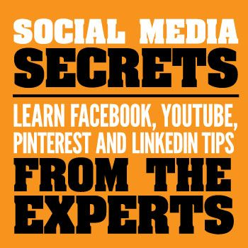 Social Media Secrets: Learn Facebook, YouTube, Pinterest and LinkedIn Tips from the Experts // PLUS: Why you need a customized Twitter profile header image. #designthatsells #branding #tips
