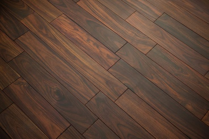 """Pre-Finished Solid Rosewood Flooring - Natural / Rosewood (Sonokeling) / Select / 3-1/2"""" x 18""""-4' / Pre-Finished"""