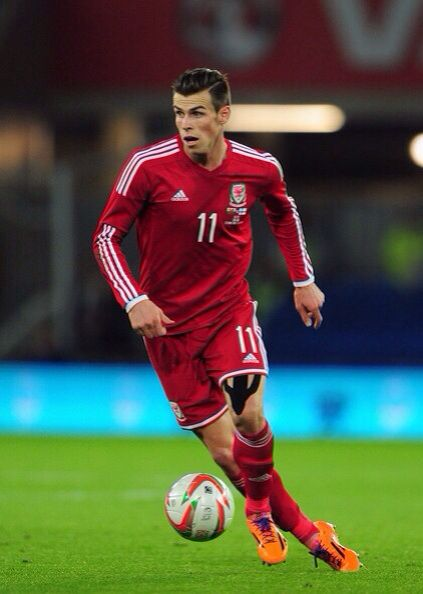Gareth Bale Wales national team. My other Dominant european heritage on my farthers side.