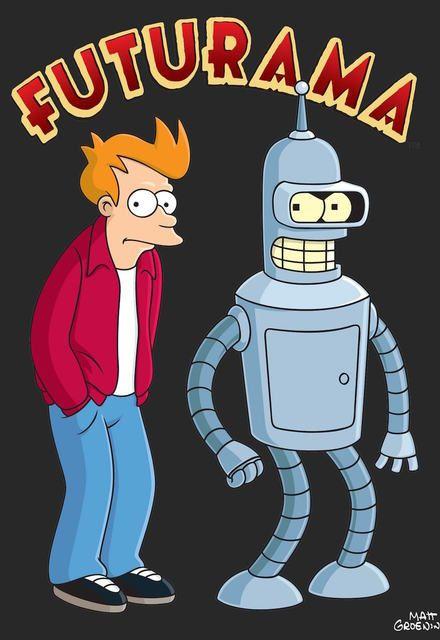Futurama Show Poster