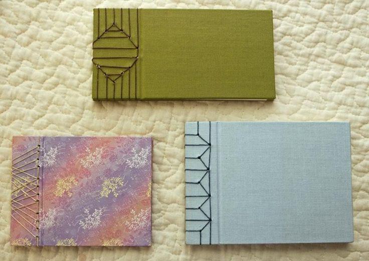 Stab bindings by Felice Regina