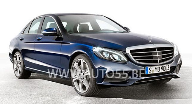Photos of 2015 Mercedes-Benz C-Class Leaked Again