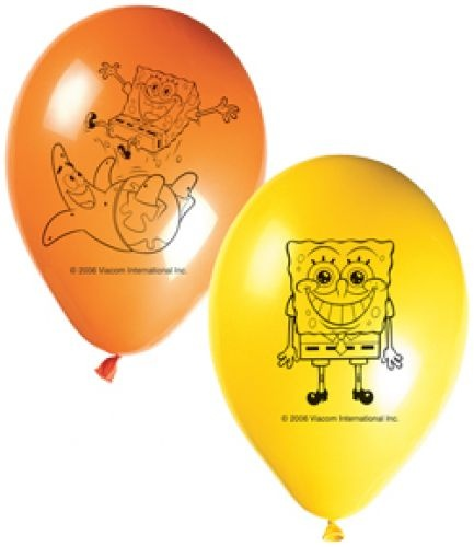 Spongya léggömb 8 db | Party Point - Dekoráció - lufi, dekoráció, parti termék, esküvő, jelmezek, parókák...
