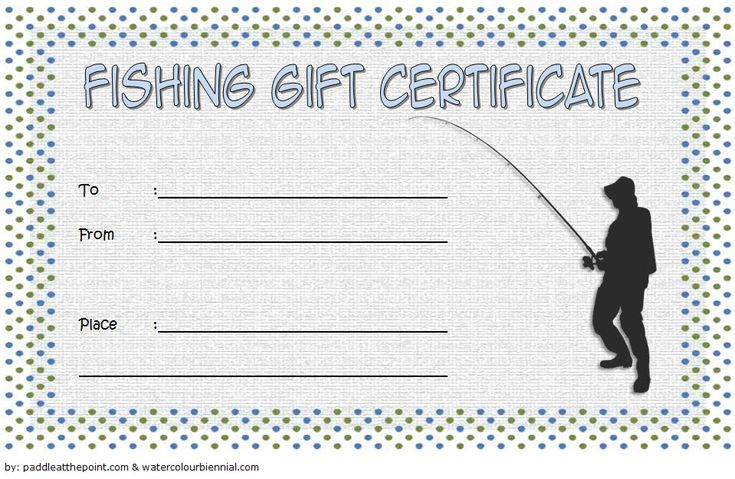 fishing gift certificate template free 1