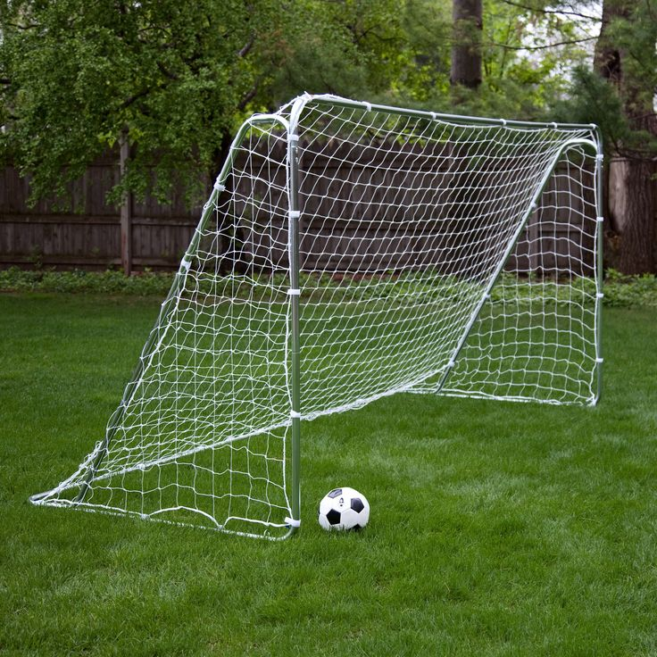 Have to have it. Franklin Tournament Steel Portable Soccer Goal - 12' x 6' - $79.99 @hayneedle