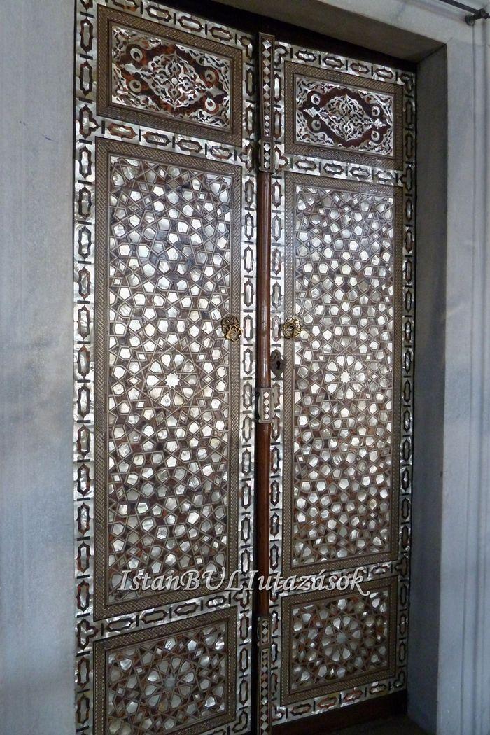 Szulejmán palotájának csodás ajtaja