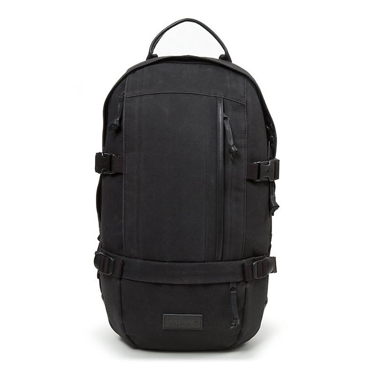 Backpack EastPak Floid Waxed Black - - Fits Laptop in Computers/Tablets &  Networking, Laptop & Desktop Accessories, Laptop Cases & Bags