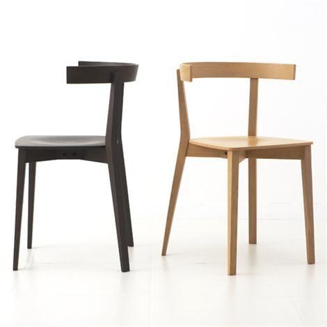scandinavian wooden furniture. carola scandinavian wooden chair by lievore altherr molina for andreu world furniture pinterest