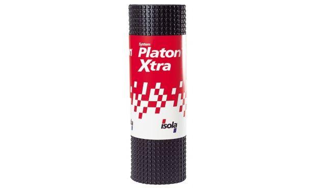 <b> Platon Xtra Grunnmursplate: </b> Komplett system for effektiv fuktbeskyttelse av utvendig grunnmur