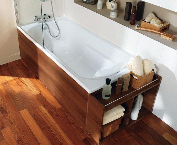 Castorama baignoire balneo amazing awesome baignoire ilot retro avec pieds bois wenge jpg - Baignoire d angle castorama ...