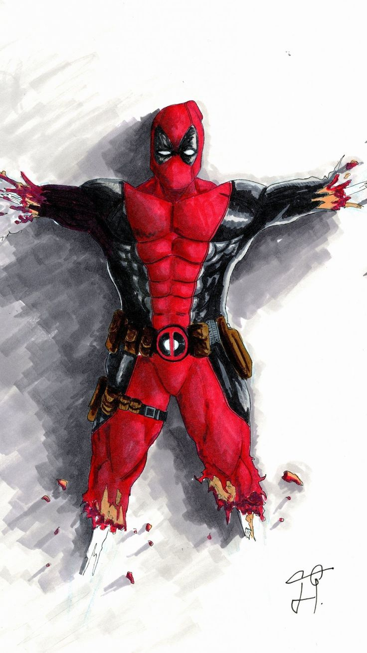 Deadpool HD Wallpapers for iPhone Plus tures