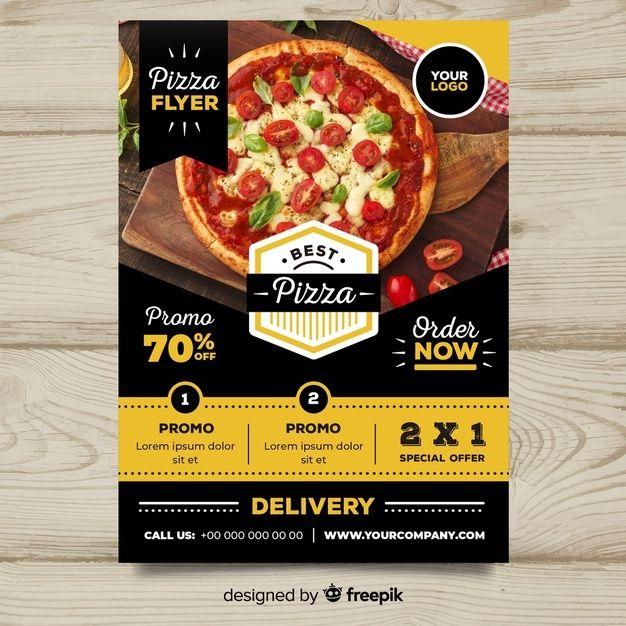 Pizza Flyer Templates Free Menu De Pizza Comida Rapida