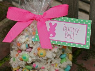 Bunny Bait! Would be cute with any Holiday M's; For teachers, parties, or gift baskets!
