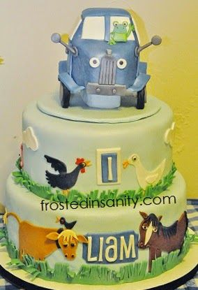... Blue Truck on Pinterest  Birthday cakes, Birthdays and Birthday