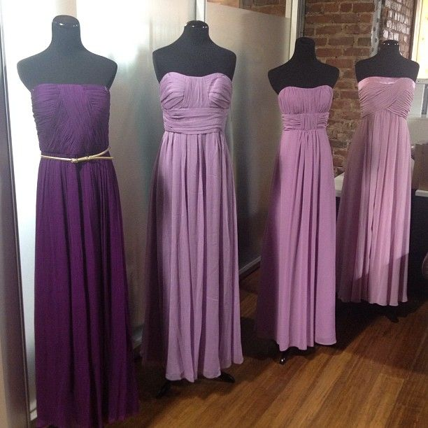 Purple to pink ombre purple weddings pinterest for Purple ombre wedding dress