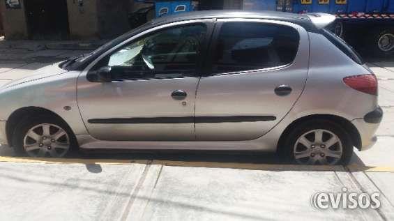 VENDO AUTO PEUGEOT 206 HATCHBACK Vendo mi Auto Peugeot 206 Automático Hatchback d .. http://huaraz.evisos.com.pe/vendo-auto-peugeot-206-hatchback-id-656268
