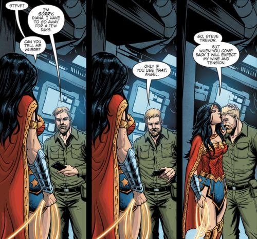 From Wonder Woman Steve Trevor