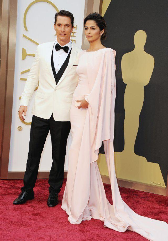 Matthew McConaughey and Camila Alves McConaughey
