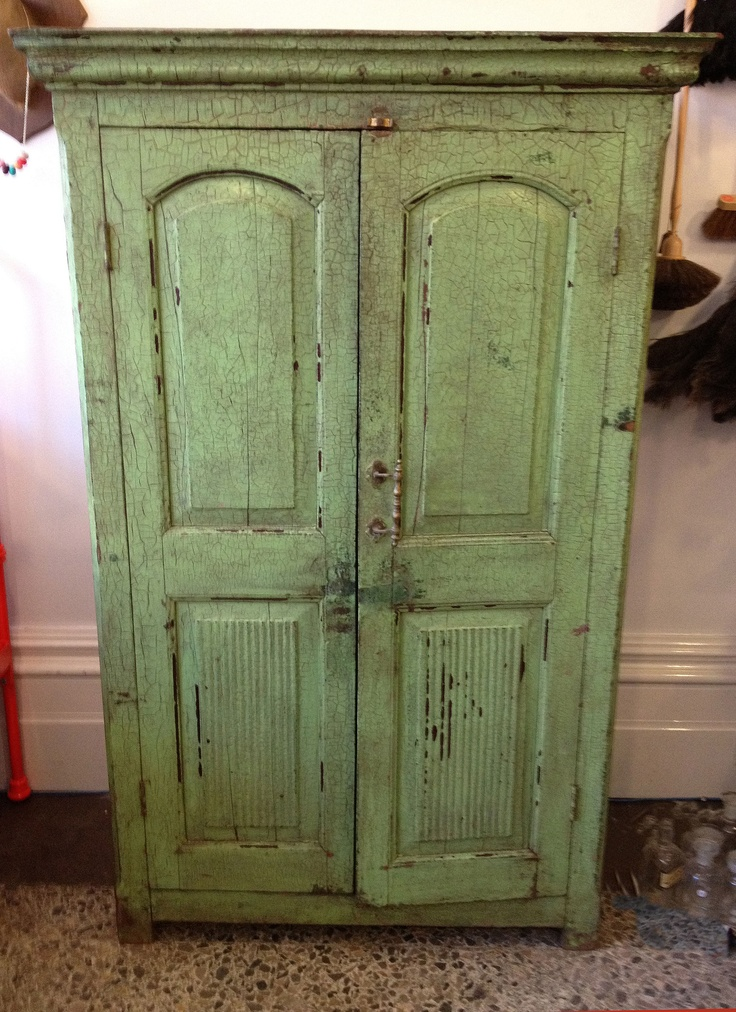 Shabby Chic Jewelry Armoire