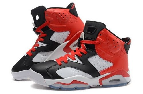 d4e8844aa61ee1 Real Air Jordan 6 Retro Black White Red - Mysecretshoes