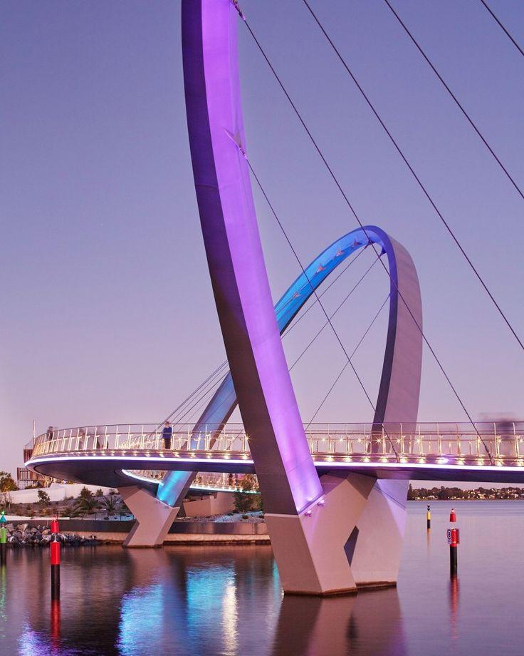 Elizabeth Quay lighting design by Electrolight