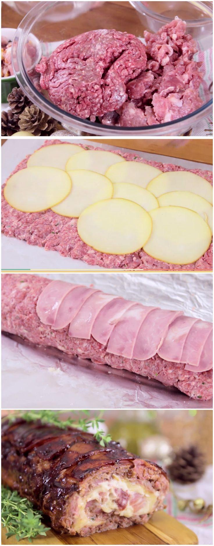 ROCAMBOLE DE CARNE E PROVOLONE FACIL #carnes #carne #rocamboledecarneeprovolone #rocamboledecarnefacil #rocamboledecarnerapido #rocamboledecarnebarato