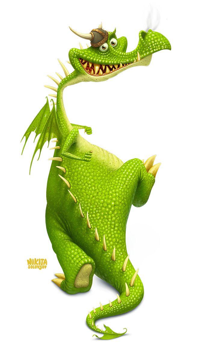 Failure to train dragon, Иллюстрация © НикитаСоловьёв★ Find more at http://www.pinterest.com/competing/
