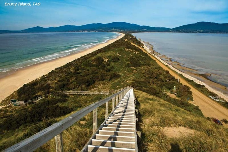 South of Hobart, in Bruny Island.