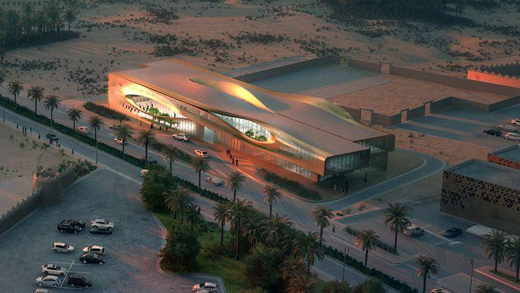 Центр управления городским наследием в Саудовской Аравии