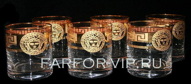 Набор стаканов Версаче для виски 6 шт. Артикул: RL0161