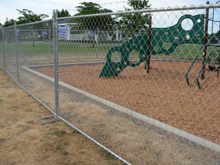 17 Best Images About Chain Link Temporary Fence On