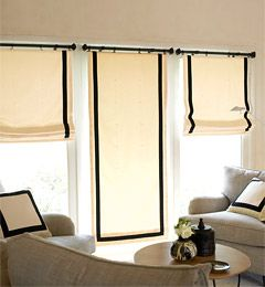 61 best images about window treatments on pinterest window treatments scarf valance and valances for Coordinating fabrics for living room