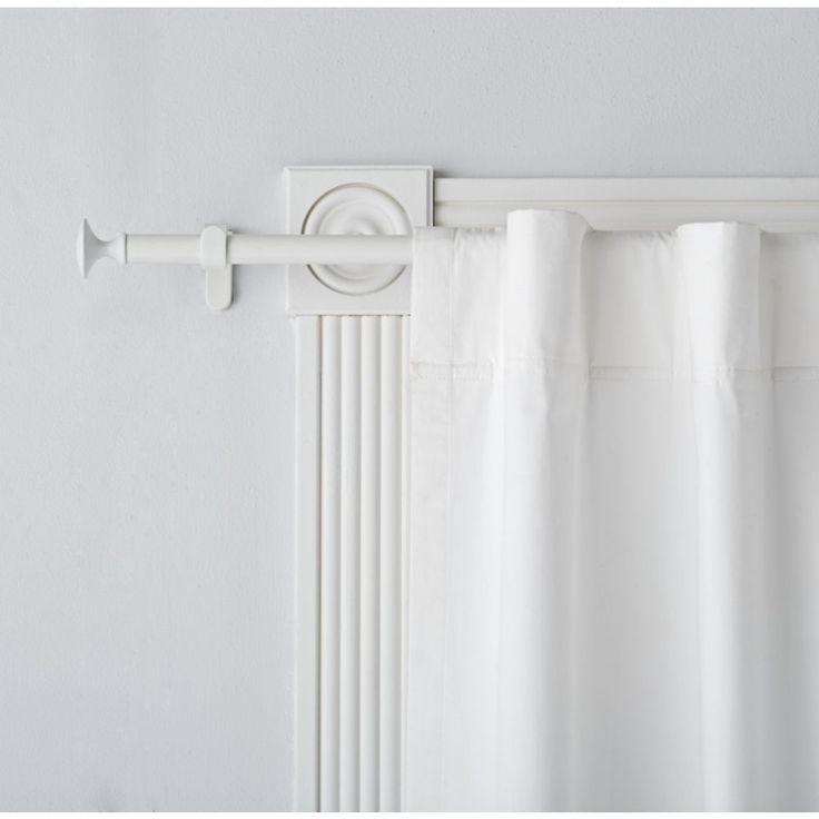 Best 25 White curtain rod ideas on Pinterest  White