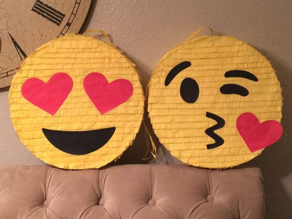 18 Emoji Piñata Kissing Emoji Piñata Emoticon Piñata