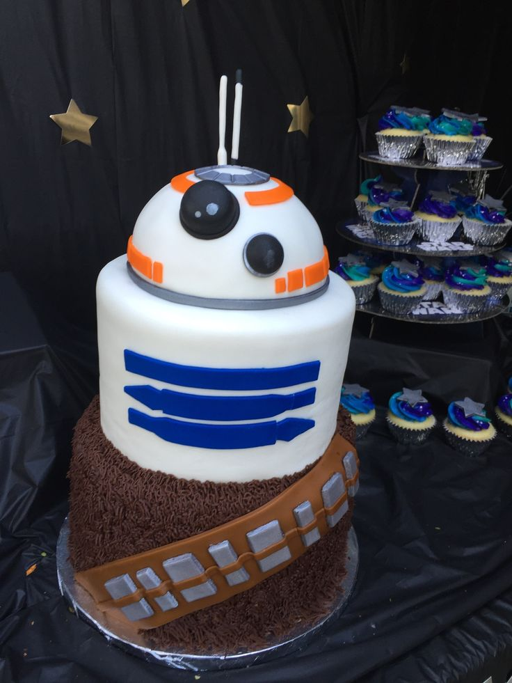 344 Best Chewbacca Cakes Images On Pinterest Starwars Star Wars Cake And Star Wars Party