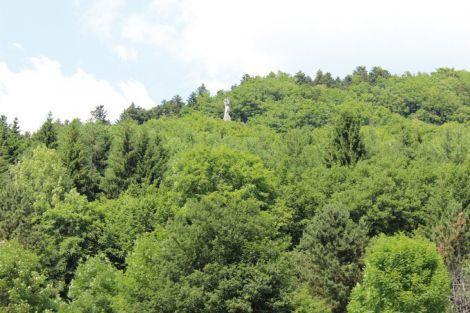 La Vierge d'Alsace à Niederbruck, commandée après la Grande guerre et sculptée par Bourdelle, contemple la vallée. Cachée dans la végétation, il faut avoir l'œil pour le trouver. Sinon, il faut grimper pour l'admirer.