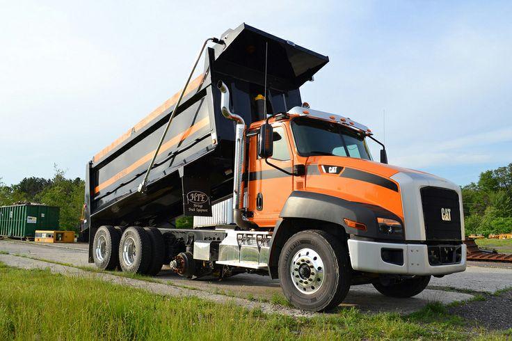 2013 Cat CT660 TriAxle Dump Truck. heavyhauling Cat