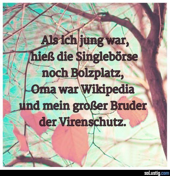 Als ich jung war... - #damals #kindheit #kindheitserinnerungen #virenschutz #wikipedia